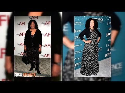 SHONDA RHIMES DOESN'T LIKE THE WEIGHT LOSS COMPLIMENTS