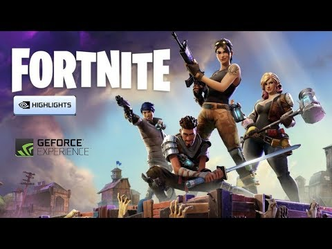 How to enable Nvidia highlights in fortnite
