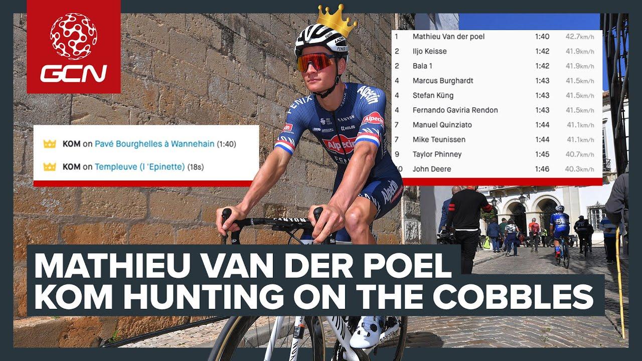 Mathieu Van Der Poel's Paris-Roubaix Recce | GCN Racing News Show