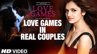 LOVE GAMES in Real Couples | Patralekha, Gaurav Arora, Tara Alisha Berry | T-SERIES