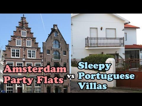 Shampoo and Booze Episode 4: Amsterdam Party Flats vs Sleepy Portuguese Villas
