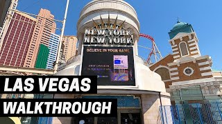 New York-New York Hotel & Casino Walkthrough Tour - Las Vegas 2020