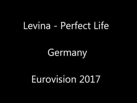 Favourite Winner Eurovision 2017 Germany Lyrics -  Perfect Life