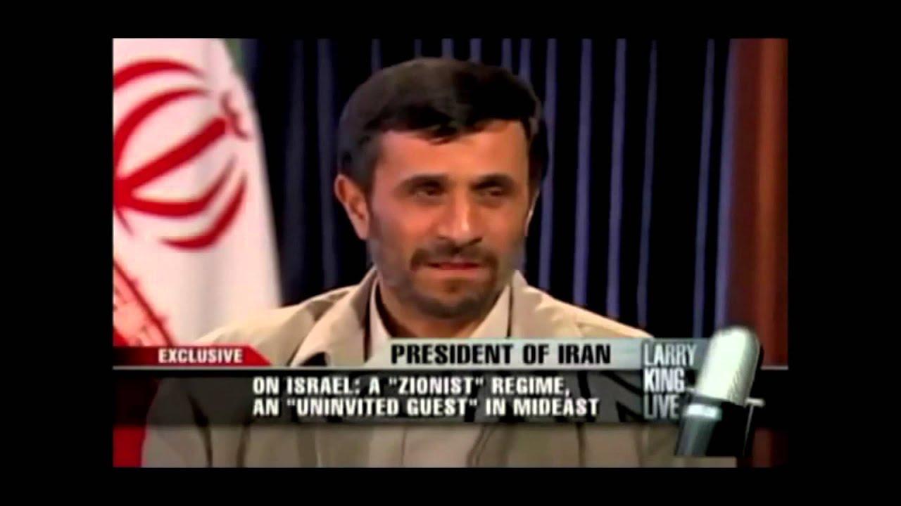 israelites unite iran president admits the jewish people