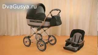 видео Детская коляска роан марита, коляска люлька роан марита