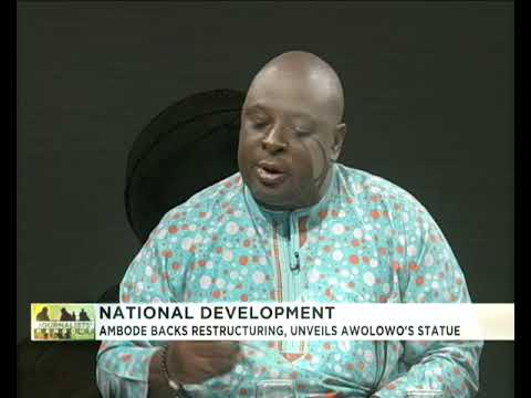 Journalists' Hangout | Ambode backs restructuring, unveils A