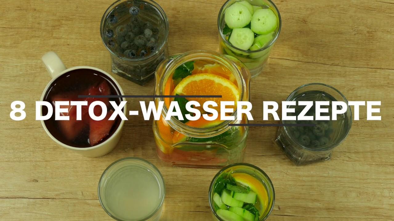 8 Der Besten Detox Wasser Rezepte Zum Abnehmen Und Entgiften Youtube