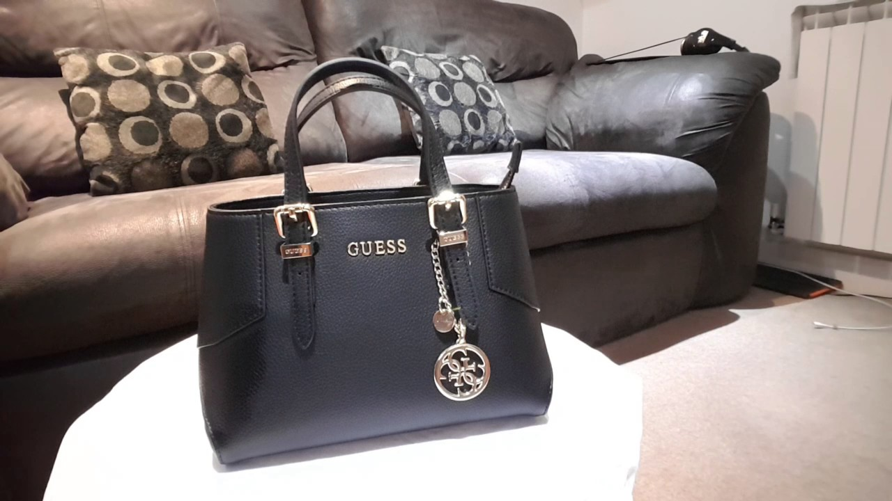 Guess Black Handbag Review