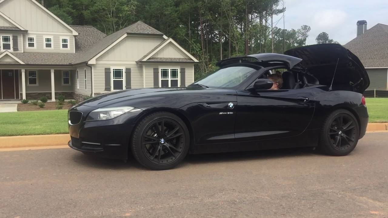 2010 BMW Z4 3.0 S Drive M Sport for sale - YouTube