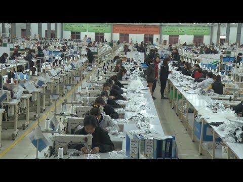 Công nghiệp may ở Nghệ An tạo việc làm cho hàng nghìn lao động địa phương