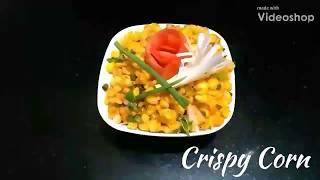 Delicious Recipes #4 | Crispy Corn | Tea-Time Snack | Easy Indian Recipe