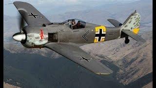 Истребитель Фокке Вульф FW 190 опасный