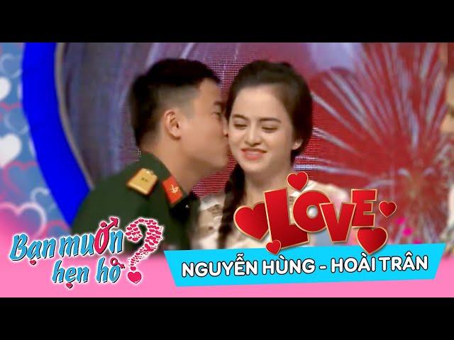 Chàng sĩ quan quá may mắn được làm mai cô nàng rất xinh | Nguyễn Hùng - Hoài Trân | BMHH 331 💗