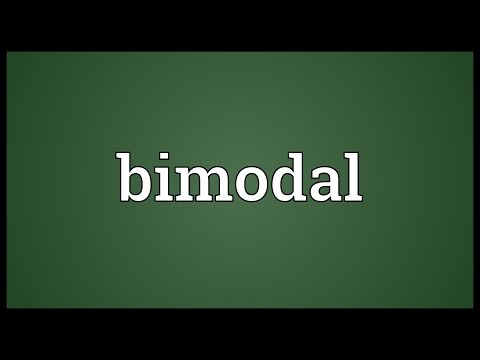 Bimodal Meaning