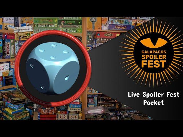 Galápagos Spoiler Fest Pocket