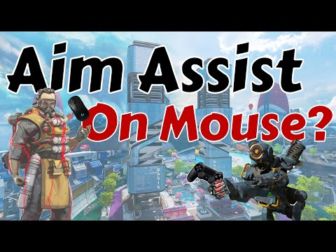 How To Use Mouse Acceleration In Apex Legends | Aim Assist For Mouse *almost*