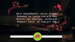 Anaya Aid Gözəl Şeir -  seslendiren Aida Suleymanli aidaseir