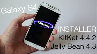 Comment installer Android KitKat 4.4.2 ou Jelly Bean 4.3 sur le Galaxy S4