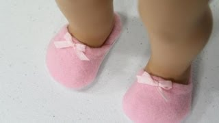 How To Make Doll House Shoes