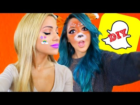 Thumbnail: 5 DIY SNAPCHAT FILTER Halloween Costumes 2016!