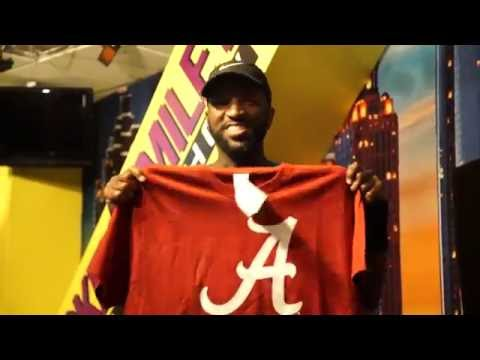 Rickey Smiley Sings Alabama Fight Song!