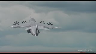 Amazing Airbus A400M Atlas steep Takeoff [HD]