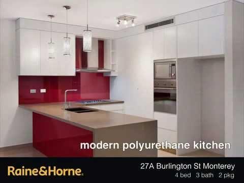 Brand New Designer Duplex - 27A Burlington St Monterey NSW 2217