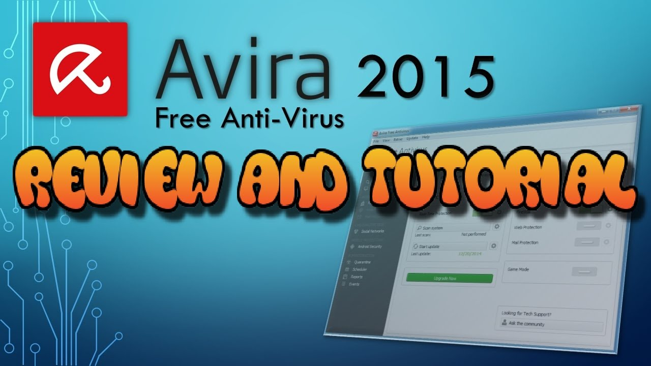 Avira Free Antivirus 2015 Review and Tutorial