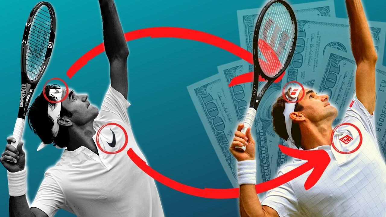 How Roger Federer Struck GOLD by Leaving Nike