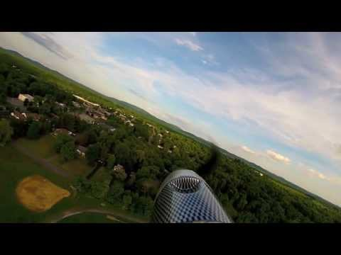 FLYING OVER NEW PALTZ MIDDLE SCHOOL FIELD