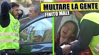 MULTARE la GENTE - Finito MALE donna PIANGE