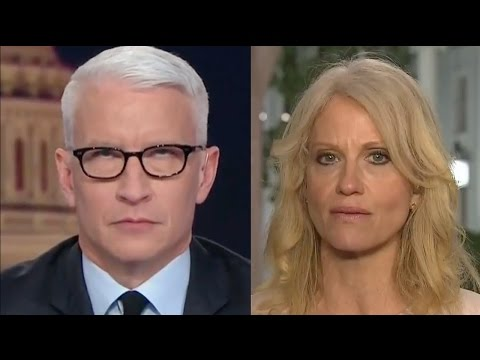 Thumbnail: Anderson Cooper Rolling His Eyes at Kellyanne Conway