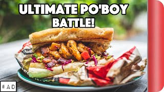 ULTIMATE PO'BOY SANDWICH BATTLE | Game Changers