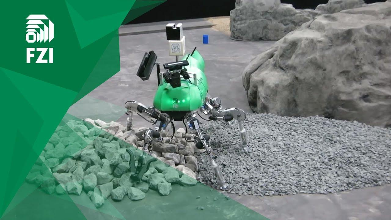Team Laurope bei der Qualifikation für das SpaceBot Camp 2015