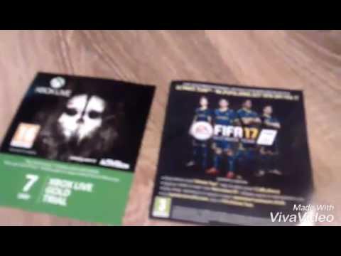Jak Wpisac Kod Z Karty Lub Kartki Na Xbox One Youtube