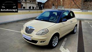 Test: Lancia Ypsilon 1.2 16v (2006) /Gradska sminka