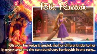 My Personal Ranking // Rapunzel. [Updated]