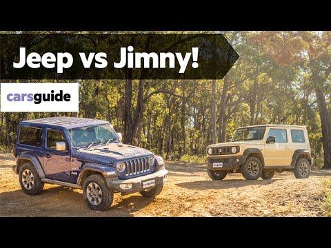 2020 Suzuki Jimny One Of The Best Non-US Off-Roaders >> Suzuki Jimny Vs Jeep Wrangler Overland 2019 Off Road Review