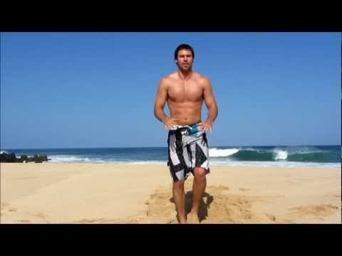10 MINUTE FAT BURNING BEACH WORKOUT