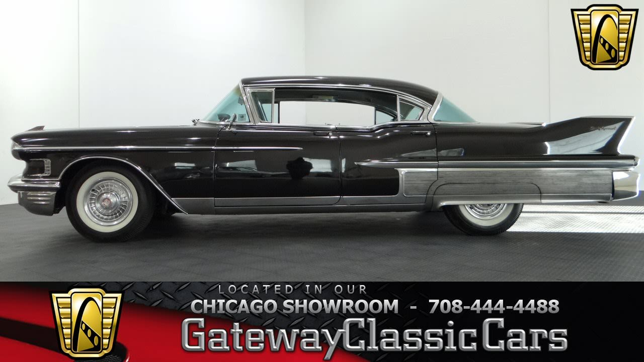 1958 Cadillac Sixty Special Gateway Classic Cars Chicago #839 ...