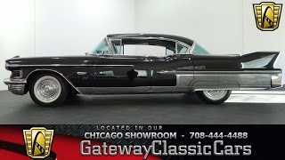1958 Cadillac Sixty Special Gateway Classic Cars Chicago #839