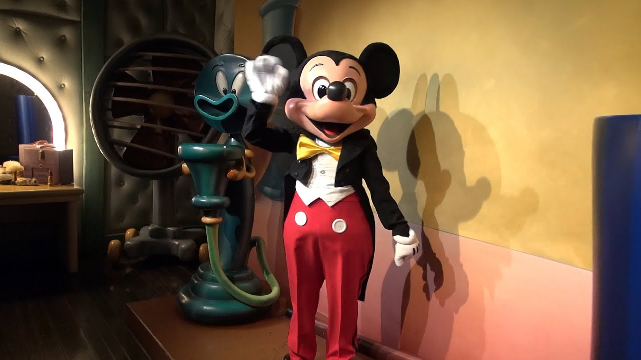 Tour of Mickey Mouses House in Mickeys Toontown