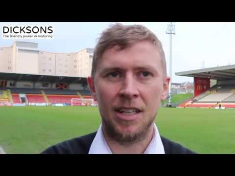 CaleyJagsTV : Richie Foran Match Reaction v Partick Thistle : 11/03/17