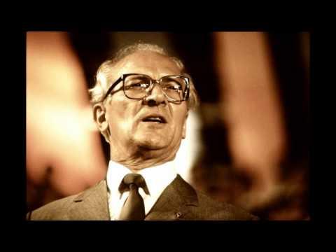 Erich Honecker - Rücktrittserklärung (18.10.89)