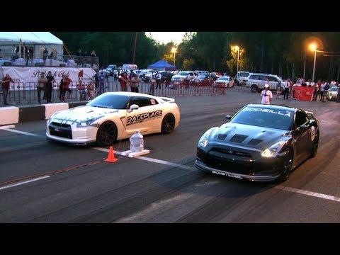 Nissan GT-R GTT 1000 vs Nissan GT-R BoostLogic Godzilla