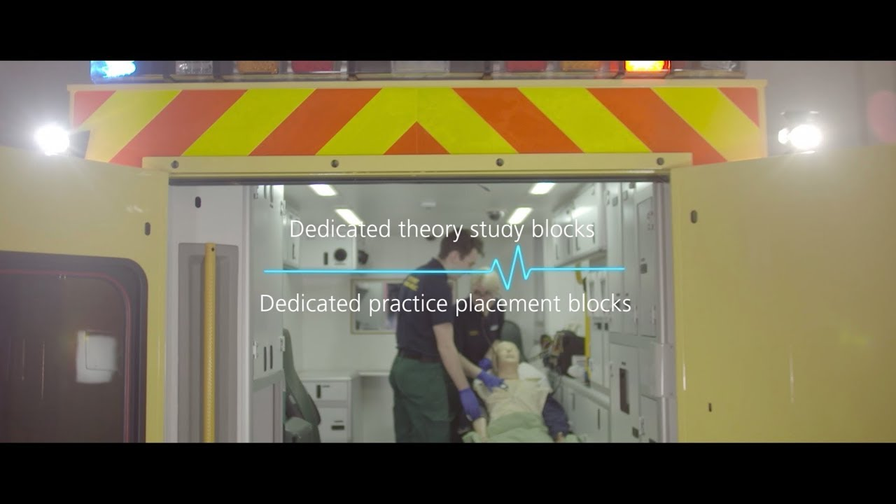 Study Paramedic Science BSc at Liverpool John Moores University