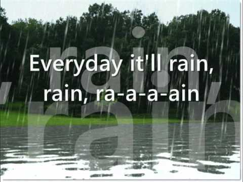 Bruno Mars- It will Rain