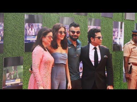 Anushka Sharma और Virat Kohli पहुचें Sachin A Billion Dreams Premiere In Mumbai