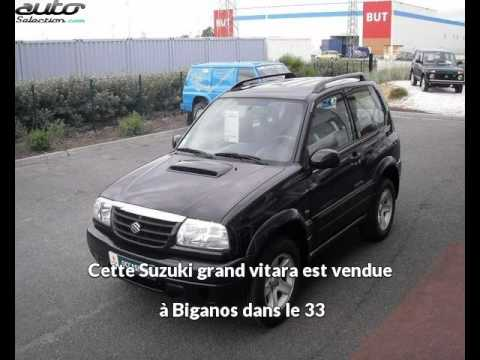suzuki grand vitara occasion visible biganos pr sent e par sud ouest 4x4 youtube. Black Bedroom Furniture Sets. Home Design Ideas