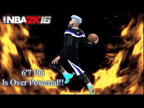 Make a 6'7 Outside Point Guard!! - NBA 2K16 MyPark